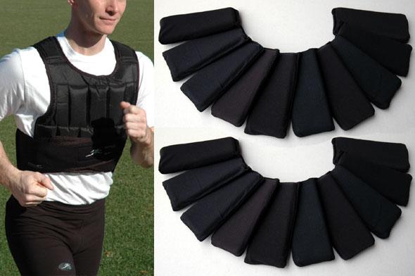 NEW Black Ballistic Nylon, (short) Uni Vest®, Soft Flex